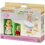 Hora del baño para el bebé