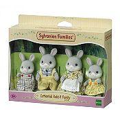 Familia conejo cola de algodón