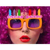 Lentes Cotillón Happy Birthday   1 piezas
