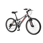Bicicleta Monark Daytona XT Aro 24'' Negro Rojo