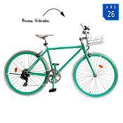 Bicicleta Macaroon 26 Verde