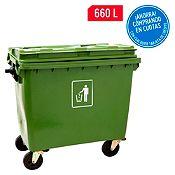 Contenedor de plástico 660 L