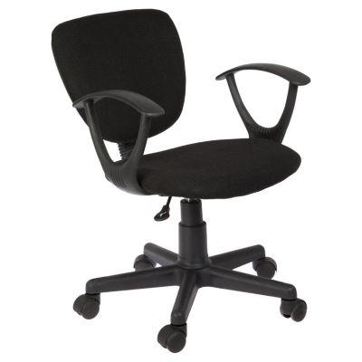 silla giratoria negra karson 544620
