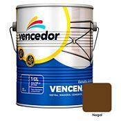 Esmalte sintético Vencenamel nogal 1 gl