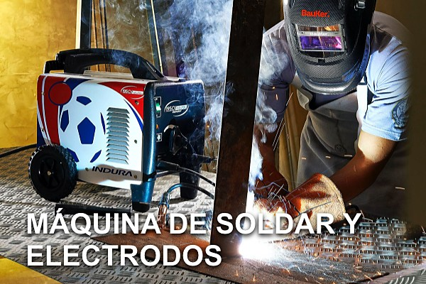 Máquinas de soldar y Electrodos