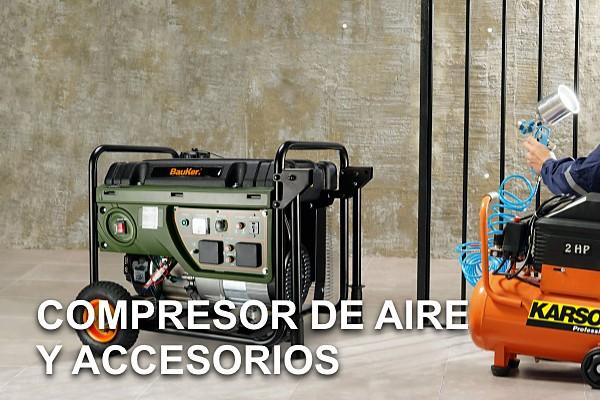 Compresor de Aire y Accesorios