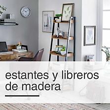 Estantes y Libreros