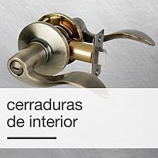 Cerraduras de Interior