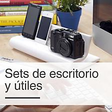 Sets de escritorio y útiles