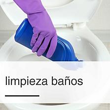 Limpieza Baños
