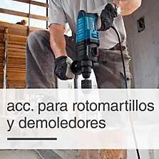 Accesorios para Rotomartillos y Demoledores