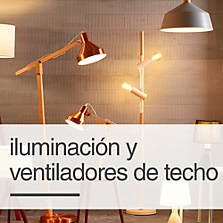 Iluminación y Ventiladores de Techo