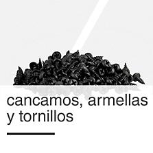 Cancamos, Armellas y Tornillos