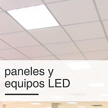 Equipos fluorescentes y LED