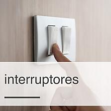 Interruptor, conmutador y pulsador