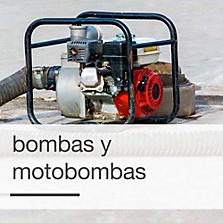 Bombas y Motobombas