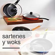 Sartenes y woks