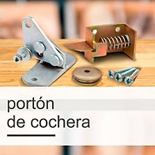 Portones de Cochera y Accesorios