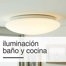 Iluminación Baño y Cocina