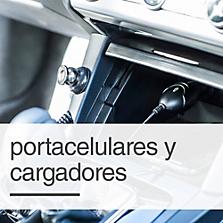 Portacelulares, Cargadores e Inversores de Corriente