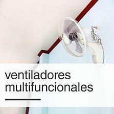 Ventiladores multifuncionales