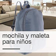 Mochilas y maletas para niños