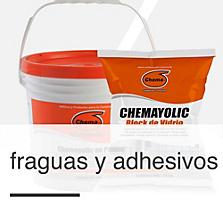 Fraguas y adhesivos