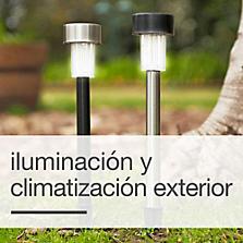 Iluminación y Climatización Exterior