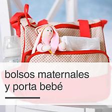 Bolsos Maternales y Porta Bebé