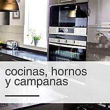 Cocinas, Hornos y Campanas