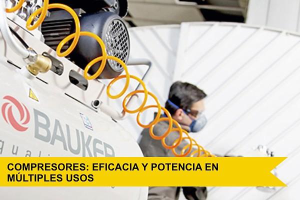 Compresores: eficacia y potencia en múltiples usos