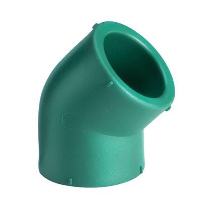 Codo termofusión 45° x 32 mm