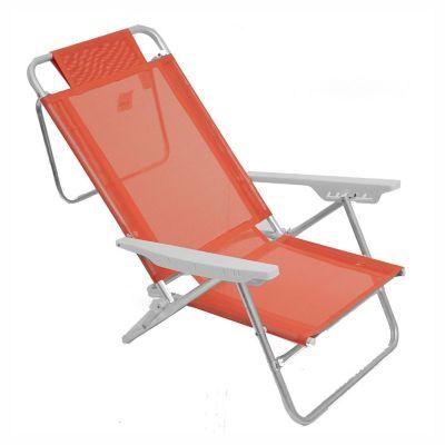 Reposera plegable Sol Fashion aluminio 6 posiciones
