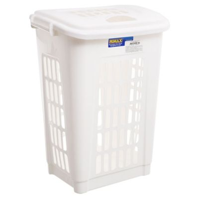 Canasto para ropa blanco 60 L