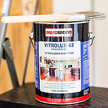 Pinturas y plastificado para pisos