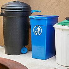 Basureros, contenedores y bolsas