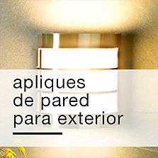 Iluminacion exterior precios bajos siempre en sodimac for Apliques iluminacion exterior pared